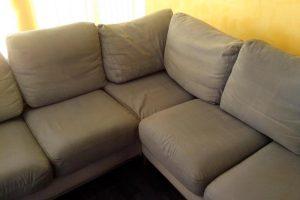 Почитване на мека мебел, почистване на домове, след почистване