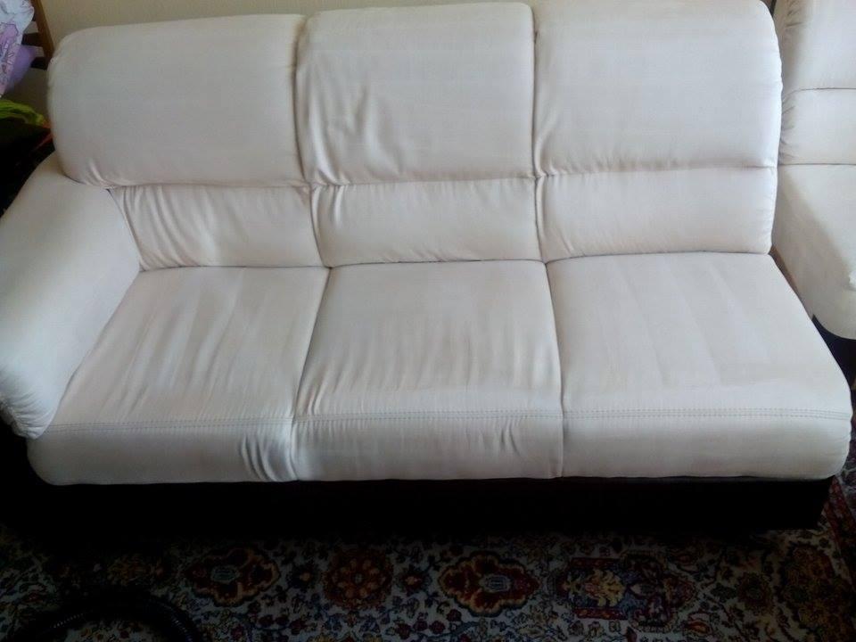 Почистване на дивани през деня и привечер