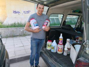 Фирма за почистване през лятото в София