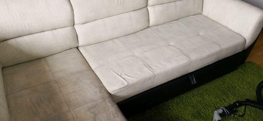 Пране на мека мебел от фирма, за професионално почистване в София